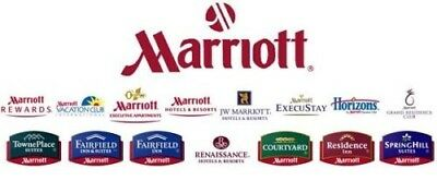 Marriott 7 Nights Certificate Category 1 - 4 Gold Account Travel Package