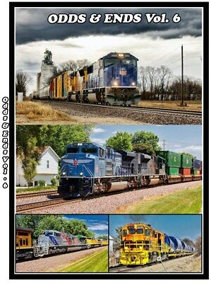 Odds & Ends Volume 6 Railroad Train DVD Please Read NS, BNSF, UP, Amtrak NEW!!