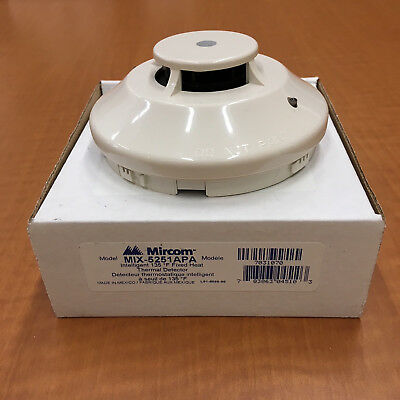 Mircom Mix-5251Apa Intelligent Thermal Detector - New