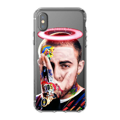 Hip Hop Emo Rap Mac Miller Silicone Phone case For iPhone Xs Max Xr X 8 7 6 Plus