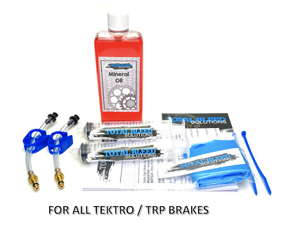 TBS Tektro Auriga Hydraulic Brake Bleed Kit. Mineral Oil Option. Universal kit.