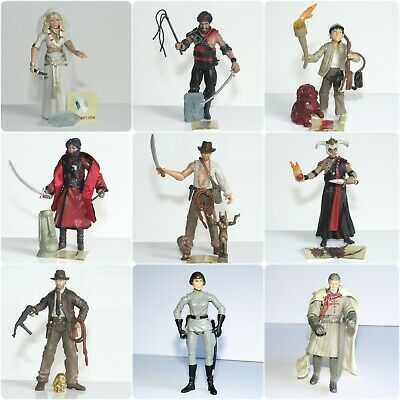 "Indiana Jones Movie Heroes & Villains 3.75"" Toy Figures (Harrison Ford)"