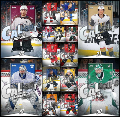 TOPPS NHL SKATE CALLOUTS WAVE 2 LE150 (15 CARD SET) Staal/Miller+++ DIGITAL