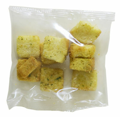Stock Sugar Foods Homestyle Cheese and Garlic Croutons Case 1oz (PACK OF 100)