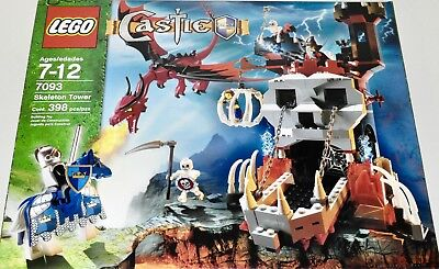 Lego 7093 Castle Skeleton Tower Box And Manual Only 1999 Picclick