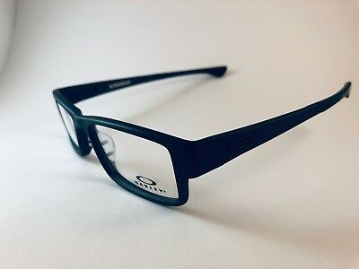 New Authentic Oakley Eyeglasses OX 8046 0153 Airdrop Satin Black w pouch