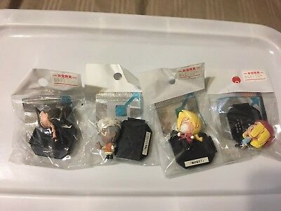 Fullmetal Alchemist Anime gashapon Mini  Figures set 4