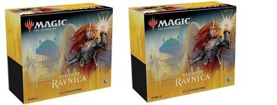 MTG Magic The Gathering Guilds Of Ravnica Bundle Fat Pack 10 Boosters x 2