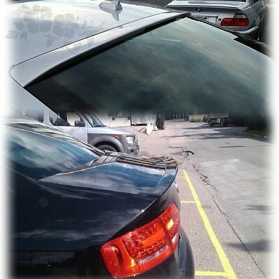Unpainted AUDI A4 B8 Rear Trunk Spoiler NA + Roof Wing Quattro 4 Dr 09-12