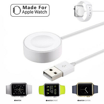 3.3ft 1M Magnetic Charger Charging Cable For Apple Watch iWatch 2 3 4 38 42mm