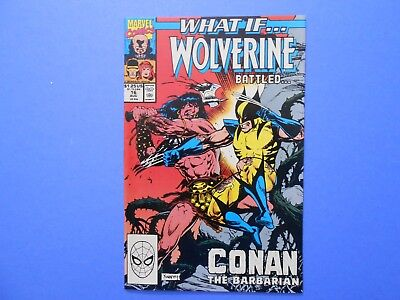 1990 Marvel Comics What If Wolverine Battled Conan The Barbarian Volume 2