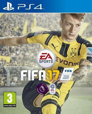 Fifa 17 Ps4  + Gift Wrap - Same Day Dispatch 1st Class Super Fast Delivery