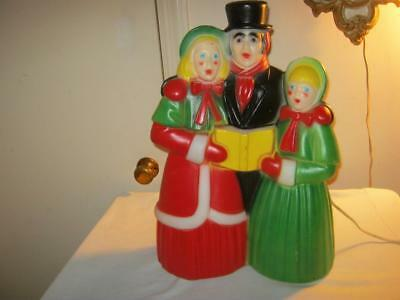 Christmas  Empire  Lighted  Blow Mold  Carolers    Eighteen Inch