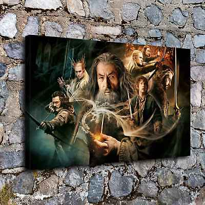 """The hobbit 16""""x26"""" HD Canvas prints Painting Home Decor Picture Wall art Poster"""