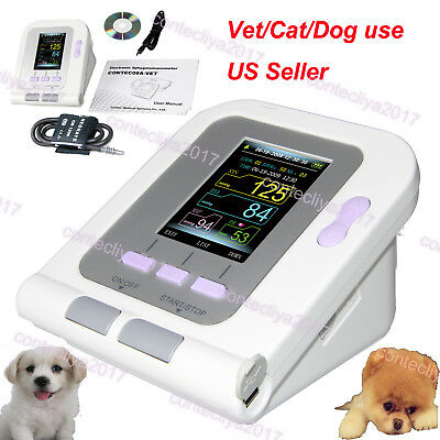 CONTEC08-VET Digital Blood Pressure Monitor,Veterinary/Animal NIBP+Cuff,Software
