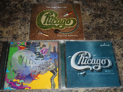 Chivago 3 CD Lot - The Very Best of 40th Anniversary Collection Only the Beginni