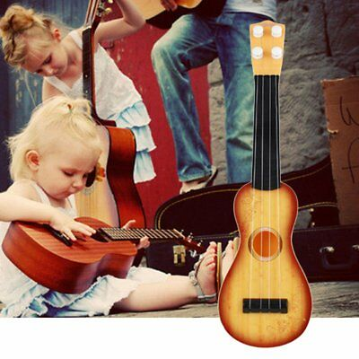 "14.5"" Ukulele Beginner Hawaii 4 String Nylon Strings Guitar Musical Ukelele AZ"