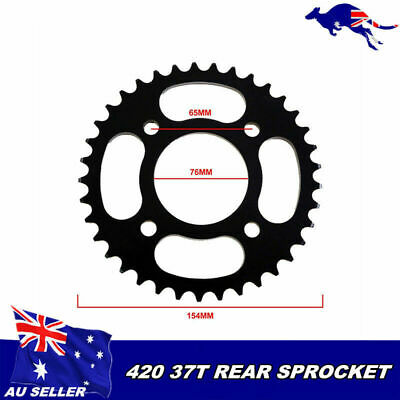 420 37T 76mm Rear Sprocket Honda XR50 CRF50 Taotao Coolster 70cc Pit Bike