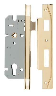 right handed rebated euro mortice lock 85 mm,range of finishes,45 mm backset