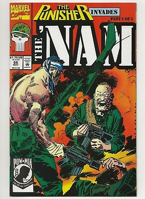 The 'Nam #68  VF/NM  Marvel (1986)  w/ The Punisher's Tour of Duty