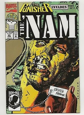 The 'Nam #69  FN+  Marvel (1986)  w/ The Punisher's Tour of Duty Conclusion!