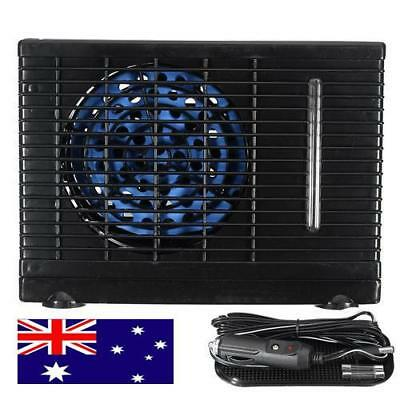 Portable 12V Car Home Mini Air Conditioner Evaporative Water Cooler Cooling Fan