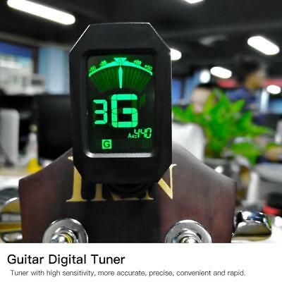 High Quality Electronic Tuner LCD Display for Chromatic Guitar Bass Violin Banjo