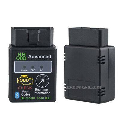 MINI ELM 327 OBD2 DIAGNOSI AUTO OBDII WiFi BLUETOOTH per Android iPhone iOS