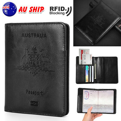 Passport Wallet Cover Protector Travel Accessories Card Holder Organiser Case