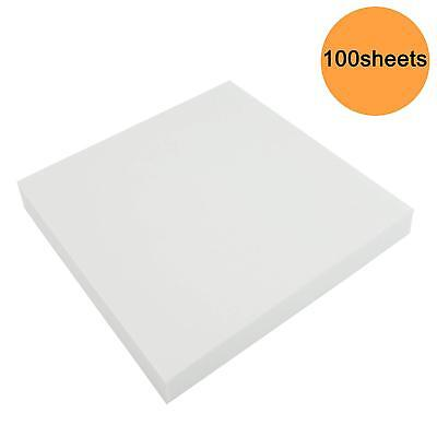 6x6 50 sheets Tear Away Embroidery Stabilizer//Backing