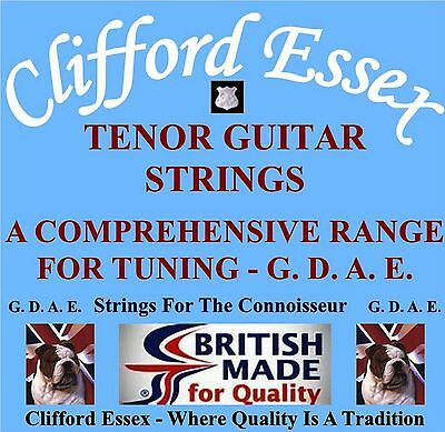 CLIFFORD ESSEX TENOR Guitar Strings  Tuned D G B E  Medium  Made In