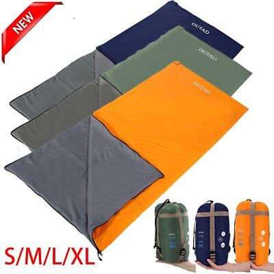 OUTAD Warm Weather Sleeping Bag - Outdoor Camping, Backpacking & Hiking - Fit B2