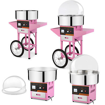 Cotton Candy Machine 1030W Sugar Floss Maker Electric Commercial Cover / Cart