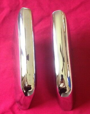 Buick Riviera 1963 1964 1965 re chromed front bumper guards