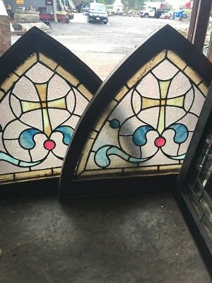 SG 2524 Two Available Price Separate Antique Arch Windows 31.25 x 23.5