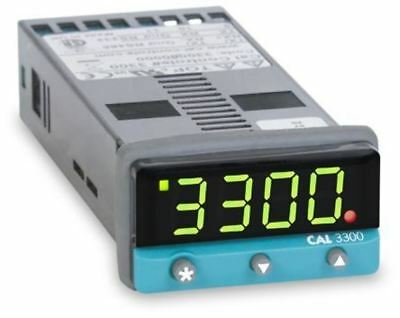 CAL 3300 PID Temperature Controller, 48 x 24 (1/32 DIN)mm, 2 Output Relay, SSD,
