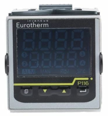 Eurotherm P116 PID Temperature Controller, 48 x 48mm, 2 + 1 (Change Over) Output