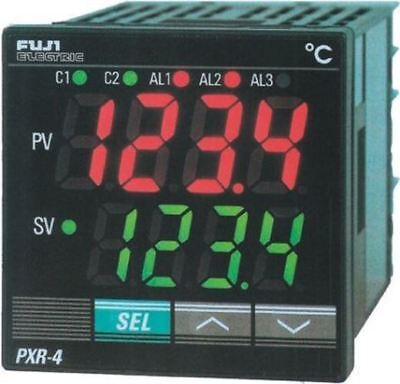 Fuji PXR4 PID Temperature Controller, 48 x 48 (1/16 DIN)mm, 1 Output Relay, 100