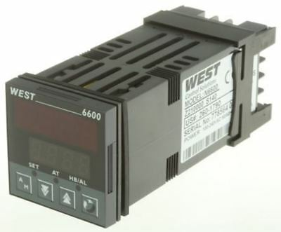 West Instruments N6600 PID Temperature Controller, 48 x 48 (1/16 DIN)mm, 1 Outpu