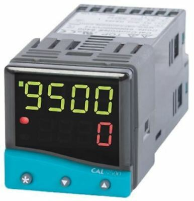 CAL 9500 PID Temperature Controller, 48 x 48 (1/16 DIN)mm, 2 Output Linear, Rela