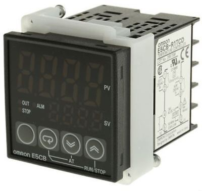 Omron E5CB PID Temperature Controller, 48 x 48mm, 1 Output Relay, 24 V ac/dc Sup
