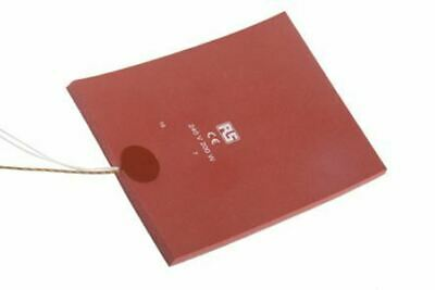 Silicone Heater Mat, 200 W, 150 x 200mm, 240 V ac