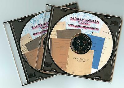 Pdf 60 Ham Military Radio Manuals R-390 Sp-600 Bc-348 Ek-07 R-1051  Dvd-Rom