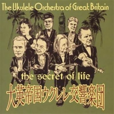 The Ukulele Orchestra Of Great Britain-The Secret Of Life-Japan Cd F56