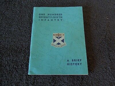 Unit History 176th Infantry Regiment Colonial times to WWII 29th Division