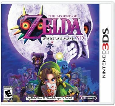 The Legend of Zelda: Majora's Mask 3D (Nintendo 3DS, 2015) Brand New US Version