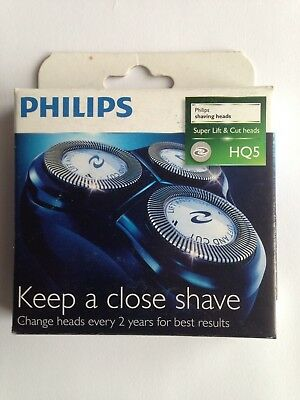 Neuf - Philips Hq5 Grille+ Couteaux  Pack