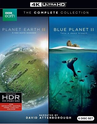 Planet Earth II / Blue Planet II (2)(4K Ultra HD)(UHD)
