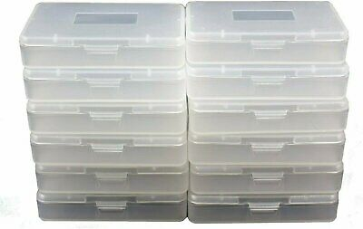 5-100 GBA Cartridge Cases Lot Clear  Nintendo Game Boy Advance Games Dust Covers