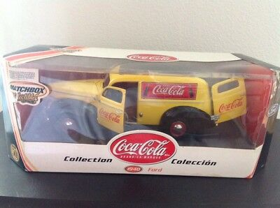 Matchbox Collectibles Coca-Cola 1940 Ford Sedan Delivery Van 2001